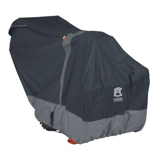 Classic Accessories StormPro RainProof Heavy-Duty Snow Thrower Cover - most two-stage snow throwers