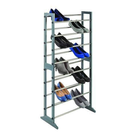 SHOE/GRAY Standing Shoe Rack