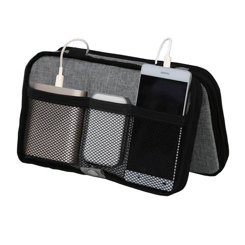 Modern Home Portable Wire Storage Station - Heather Gray