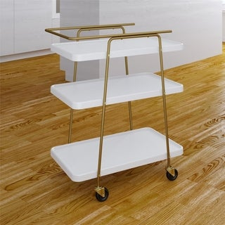 COSCO Stylaire 3 Tier Serving Cart