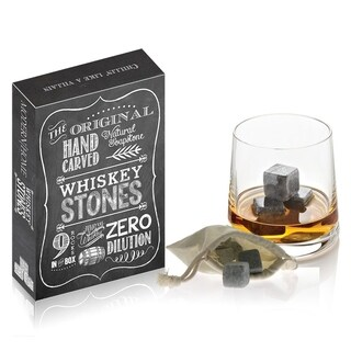 The Original Hand Carved 100 Percent Natural Soapstone Whiskey Stones