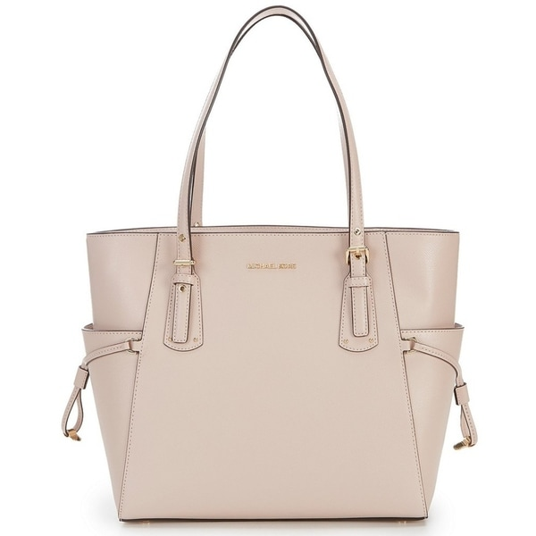 0eed1e14b035 Shop MICHAEL Michael Kors Voyager East West Tote Soft Pink - Free ...