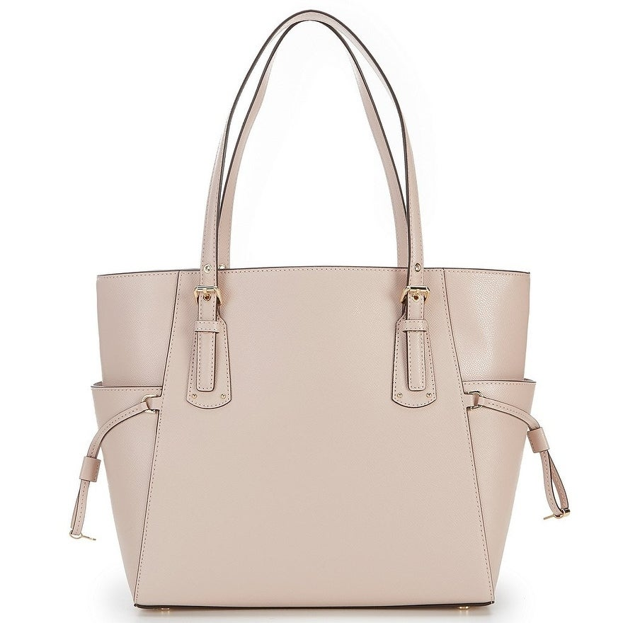 dfc2023a6759 Shop MICHAEL Michael Kors Voyager East/West Tote Soft Pink - Free Shipping  Today - Overstock - 25681532