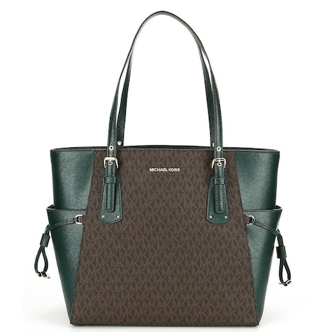 MICHAEL Michael Kors Voyager East West Tote -Green