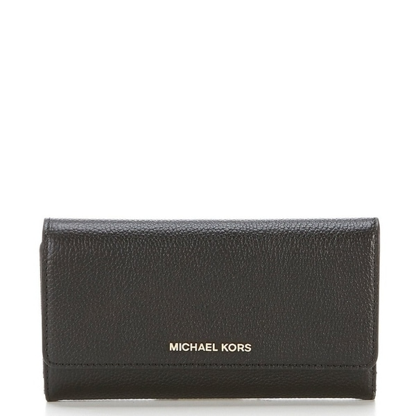 e430cdc0559b Shop MICHAEL Michael Kors Large Trifold Wallet - On Sale - Free ...
