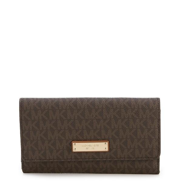 e8b8aa025157 Shop MICHAEL Michael Kors Signature Large Trifold Wallet - Free ...