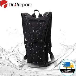 Waterproof Hydration Pack Backpack with 3L Water Bladder Climbing Camping Hiking