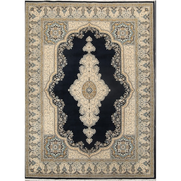 "Traditional Soft Plush Kerman Persian Oriental Floral Area Rug Carpet - 13'3"" x 9'8"""