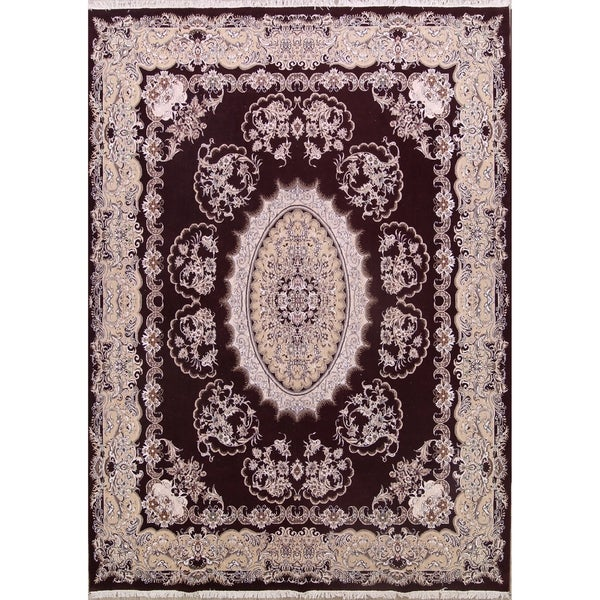 "Oriental Traditional Floral Tabriz Persian Oriental Area Rug - 13' x 9'7"""