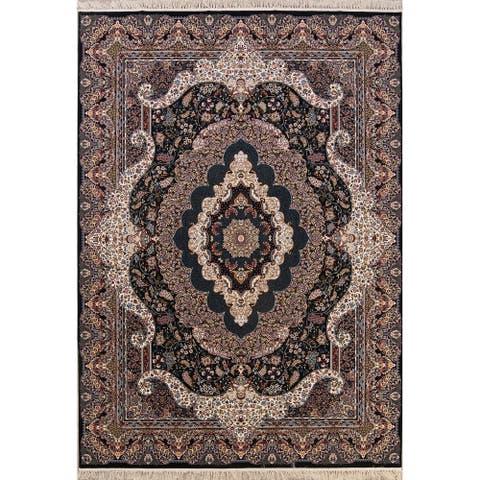 "Oriental Tabriz Qum Persian Area Rug Oriental Carpet - 11'6"" x 8'1"""