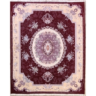 "Soft Plush Floral Traditional Tabriz Persian Area Rug - 12'10"" x 9'7"""