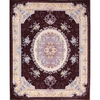 "Soft Plush Floral Isfahan Persian Oriental Area Rug - 11'7"" x 8'2"""