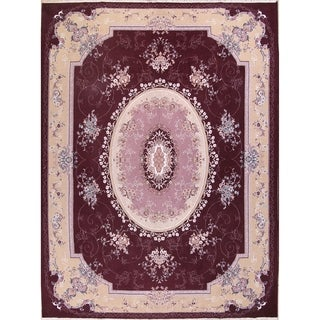 "Soft Plush Floral Tabriz Acrylic and Wool Persian Large Area Rug - 12'11"" x 9'8"""