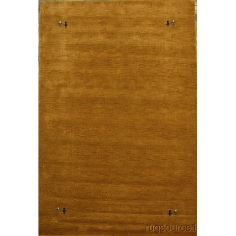 "Porch & Den Southgate Hand-made Wool Gabbeh Oriental Area Rug - 9'9"" x 6'6"""