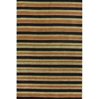 "Carson Carrington Djalp Hand-knotted Modern Tribal Rug - 9'9"" x 6'4"""