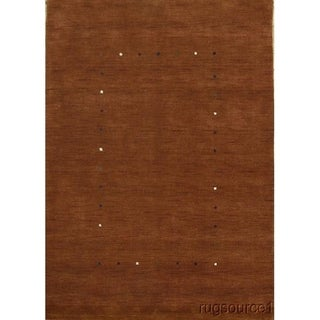 """Traditional Hand Made Gabbeh Tribal Oriental Area Rug Carpet - 8'0"""" x 5'9"""""""