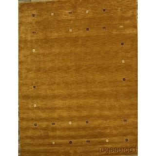 "Gabbeh Oriental Handmade Wool Tribal Area Rug Carpet - 11'1"" x 8'6"""