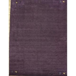 "Tribal Gabbeh Handmade Area Rug Oriental Carpet - 10'10"" x 8'2"""