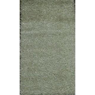 "Porch & Den Beckman Hand-made Shaggy Contemporary Oriental Area Rug - 7'5"" x 5'3"""