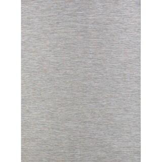 "Contemporary Solid Belgium Oriental Indoor / Outdoor Area Rug - 7'8"" x 10'0"""