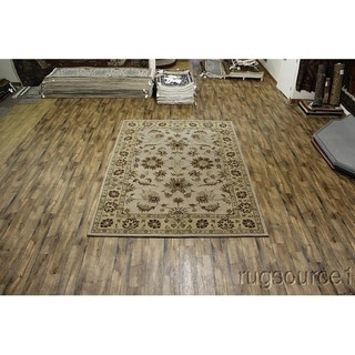 "Gracewood Hollow Mangeni Hand-tufted Floral Wool Area Rug - 11'6"" x 8'2"""