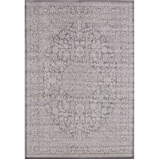 "All-Over Floral Medallion Belgium Oriental Area Rug - 5'2"" x 7'3"""