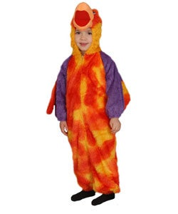 Loud Little Parrot Children's Costume