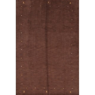 "Strick & Bolton Maire Hand-knotted Wool Area Rug - 9'6"" x 6'9"""