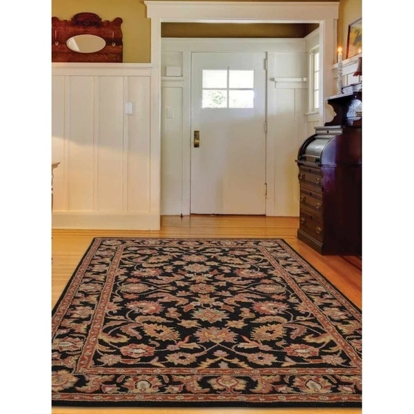 "The Curated Nomad Treat Oushak Oriental Hand-knotted Area Rug - 11'5"" x 8'2"""