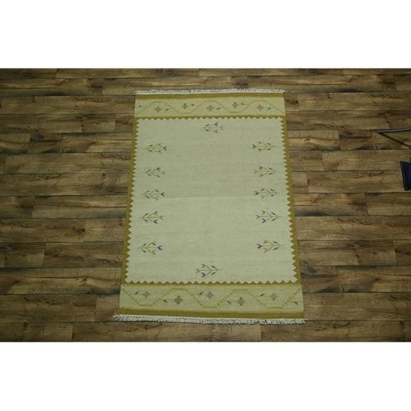 "Copper Grove Marslet Traditional Hand Woven Wool Oriental Area Rug Beige - 6'9"" x 4'6"""