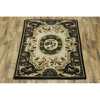 "Copper Grove Lillerod Hand-tufted Wool Oriental Area Rug Indian - 6'2"" x 4'3"""