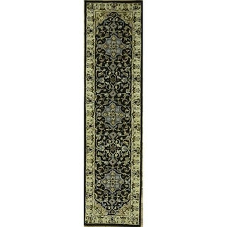 "Copper Grove Sabro Oushak Hand-tufted Oriental Area Rug - 9'9"" x 2'6"" runner"