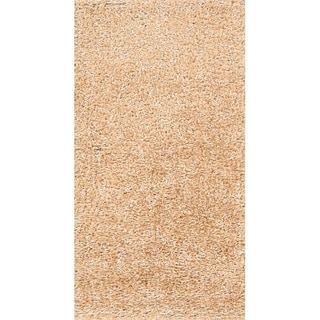 "Porch & Den Beckman Hand-knotted Shaggy Wool Oriental Area Rug - 4'9"" x 2'6"""