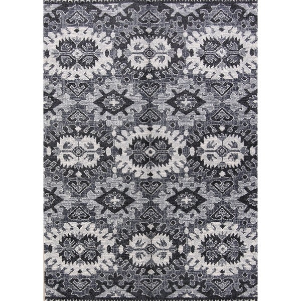 "Belgium Oriental Acrylic and Polyester Area Rug Wool - 7'3"" x 5'2"""