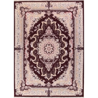 "Soft Plush Floral Tabriz Acrylic Wool Persian Oriental Large Area Rug - 13'3"" x 9'8"""