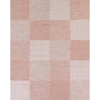 """Checked Contemporary Belgium Oriental Acrylic Polyester Area Rug - 7'9"""" x 10'0"""""""