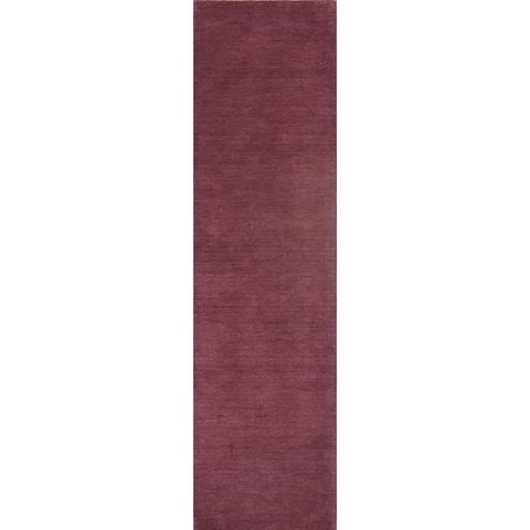 "Carson Carrington Kundby Handmade Wool Rug Carpet - 9'10"" x 2'6"" runner"