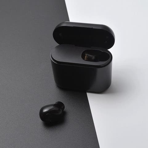 BL1 Mini Bluetooth Monaural Headphone Stereo Wireless Stealth Business Wireless Bluetooth 4.1 Headphones
