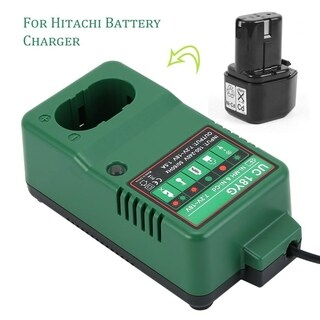 Replacement Battery Charger AC 120 V 60 Hz For Hitachi Battery Charger - Black