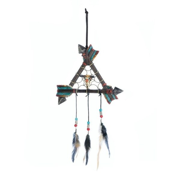 Accent Plus Wall and Window Arrow Dreamcatcher Decoration