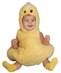 Cute Little Baby Duck Costume