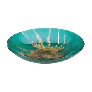 Accent Plus Celestial Home Decorative Plate - Glass, Iron
