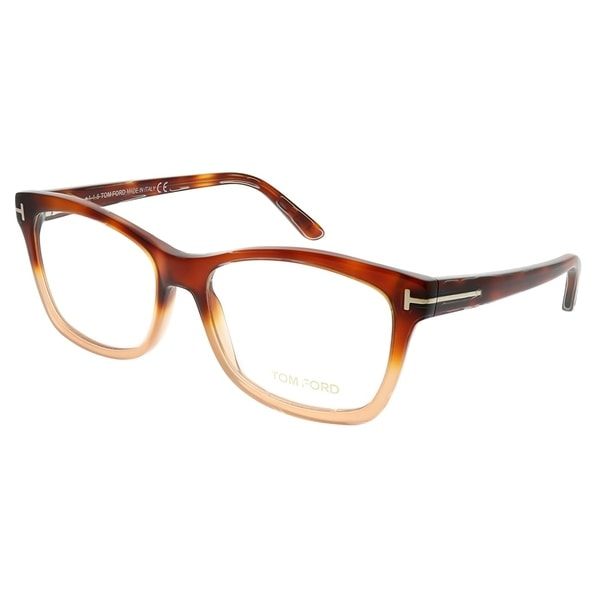 3460ef62c164 Tom Ford Cat-Eye FT 5424 056 Women Light Havana Gradient Brown Frame  Eyeglasses