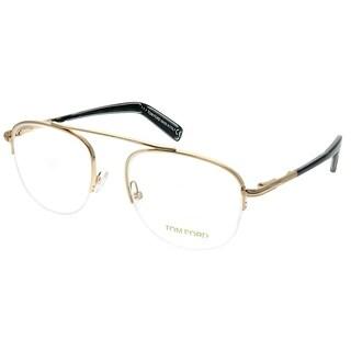 Tom Ford Round FT 5450 028 Unisex Rose Gold Frame Eyeglasses
