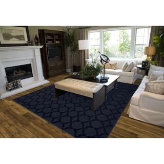 Sparta Indigo  Living Room Area Rug