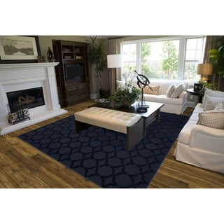 Sparta Indigo  Living Room Area Rug