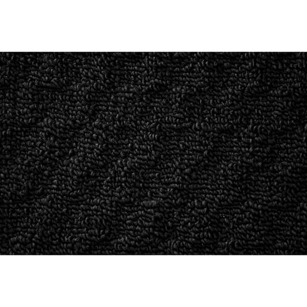 Shop Town Square Black Living Room Accent Rug Runner - 2\' x ...