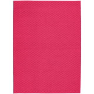 Town Square Pink Living Room Area Rug