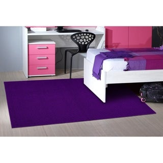 Town Square Purple Living Room Area Rug