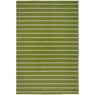 Avery Grasshopper Green  Living Room  Area Rug - 5' x 7'5""